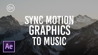 3 Techniques To Syncing Motion Graphics To Music   After Effects Tutorial