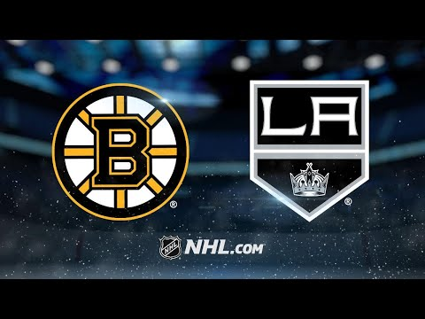 Khudobin leads Bruins to 2-1 win against Kings