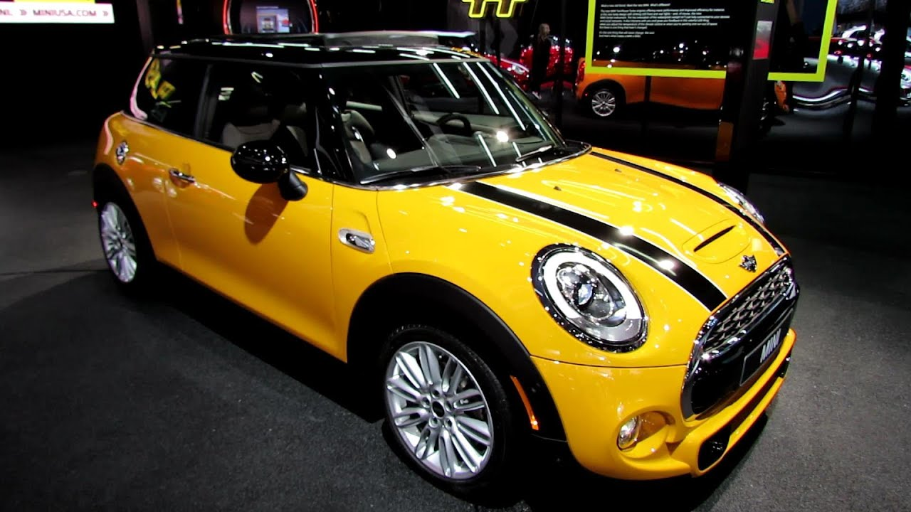 2015 mini cooper s exterior and interior walkaround 2014 detroit auto show youtube. Black Bedroom Furniture Sets. Home Design Ideas