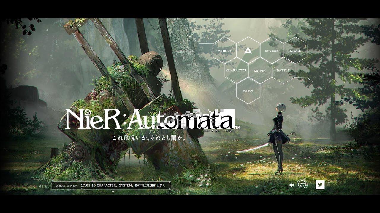 ニーア オートマタ Nier Automata Gameplay ルートb End Ag Youtube