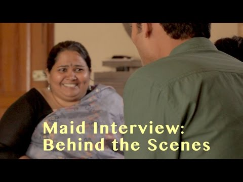 EPIC MAID VIDEOS | SUMUKHI SURESH | Behind the Scenes | SANJAY MANAKTALA
