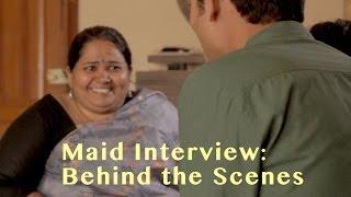 EPIC MAID VIDEOS | SUMUKHI SURESH | Behind the Scenes | SANJAY MANAKTALA