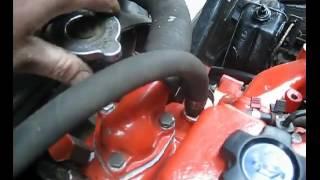 FAW 1041 система охлаждения установка