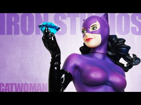 Iron Studios - Catwoman 1/10 Scale Art Statue Review