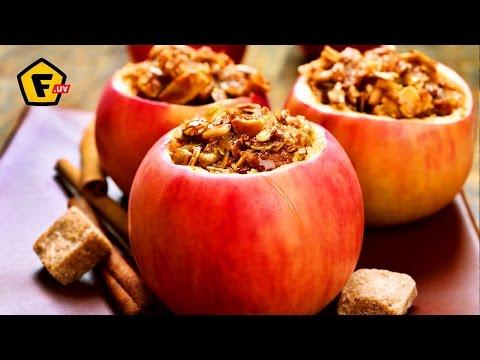 Яблоки с рисом