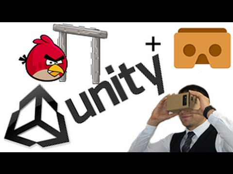 How to Build your Cardboard VR game in Unity Virtual Reality tutorial (Angry birds like)
