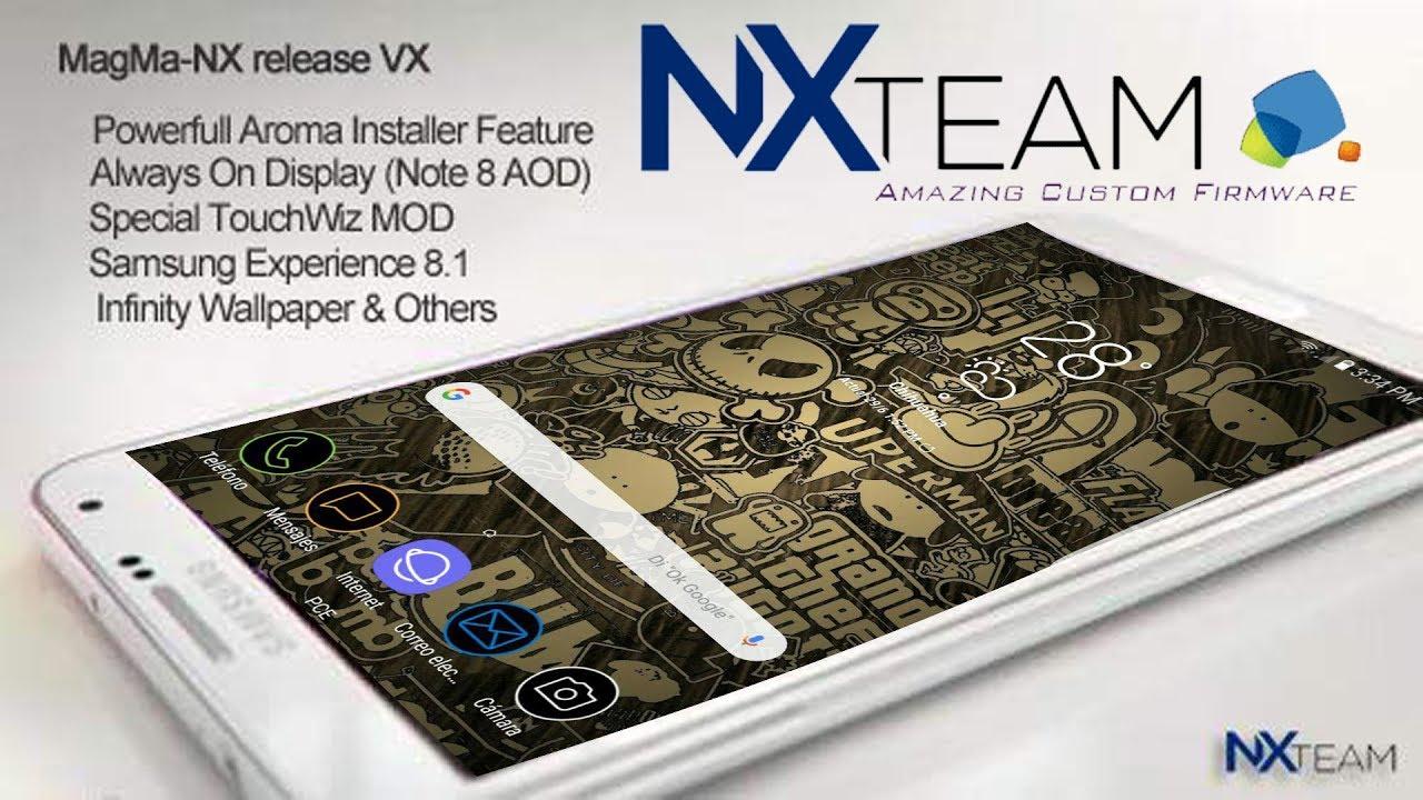 Rom Magma NxTeam Galaxy Note 3 N900V/N9005/N900W8/N900T/N900P