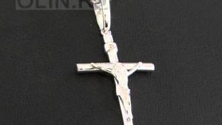 видео Крестики с бриллиантами, купить золотой крест с бриллиантами в Москве. Цены и  фото крестиков