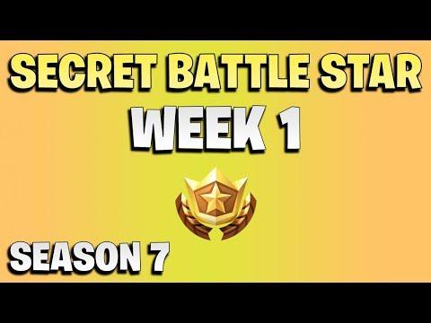 Secret Battle Star Week 1 -  Fortnite Season 7