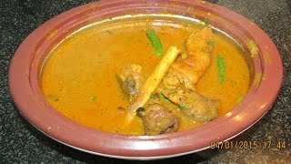 Mutton recipes - Attukal (mutton leg) Paya in Tamil