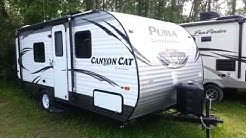 2016 Puma 18FBC Canyon Cat Edition Ultra Lite Travel Trailer @ Camp-Out RV in Stratford