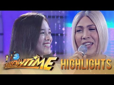 """It's Showtime Miss Q & A: Vice and """"Ate Girl"""" see each other again"""
