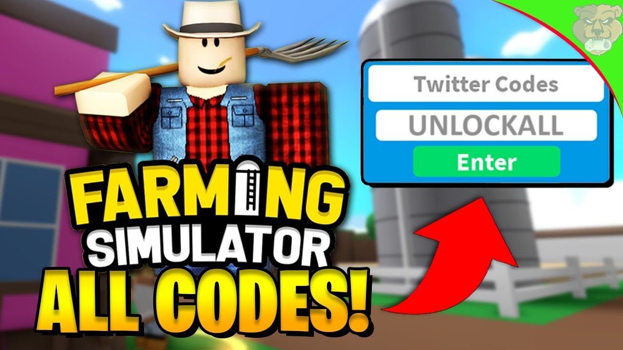 codes for farming simulator on roblox