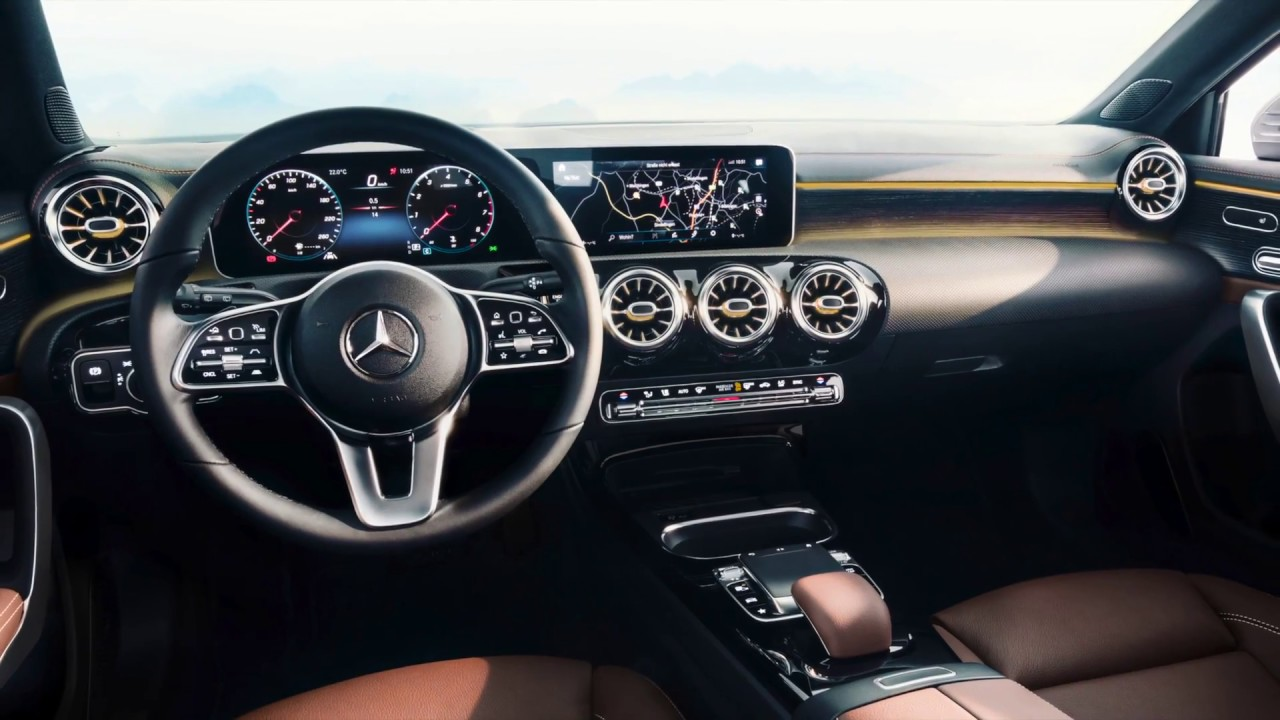 2019 Mercedes A Class - Interior Design - YouTube