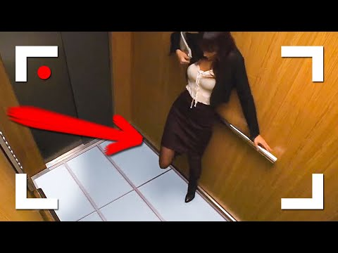 Weird Things Caught On Security Cameras And & CCTV