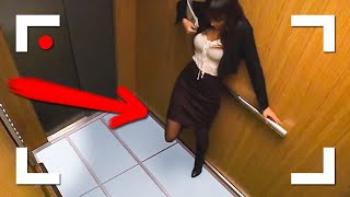 WEIRD THINGS CAUGHT ON SECURITY CAMERAS AND & CCTV!!!