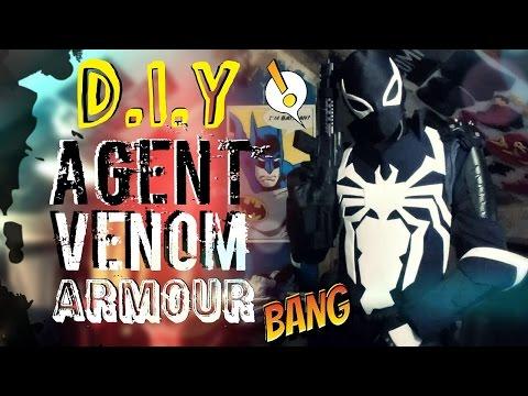 How To Make Agent Venom Body Armour | Process Video