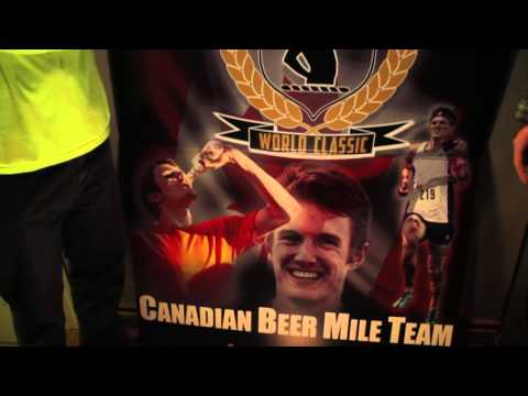 Training for a Beer Mile with the Lewis Kent, World Record Holder