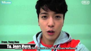 [CNBThaisub] 140114 CNBLUE 4th Anniversary Message   Yonghwa
