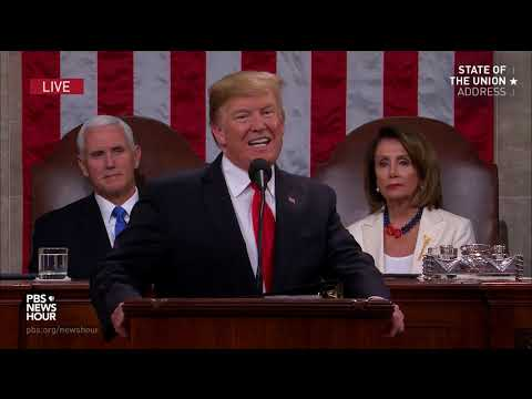 WATCH: Trump's full 2019 State of the Union address