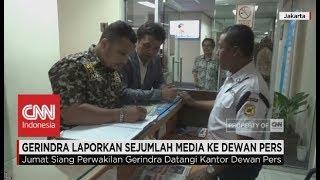 Gerindra Laporkan Sejumlah Media Ke Dewan Pers Terkait Pemberitaan La Nyalla