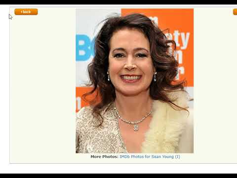 Sean Young eye color Actress who played Rachel in Blade Runner