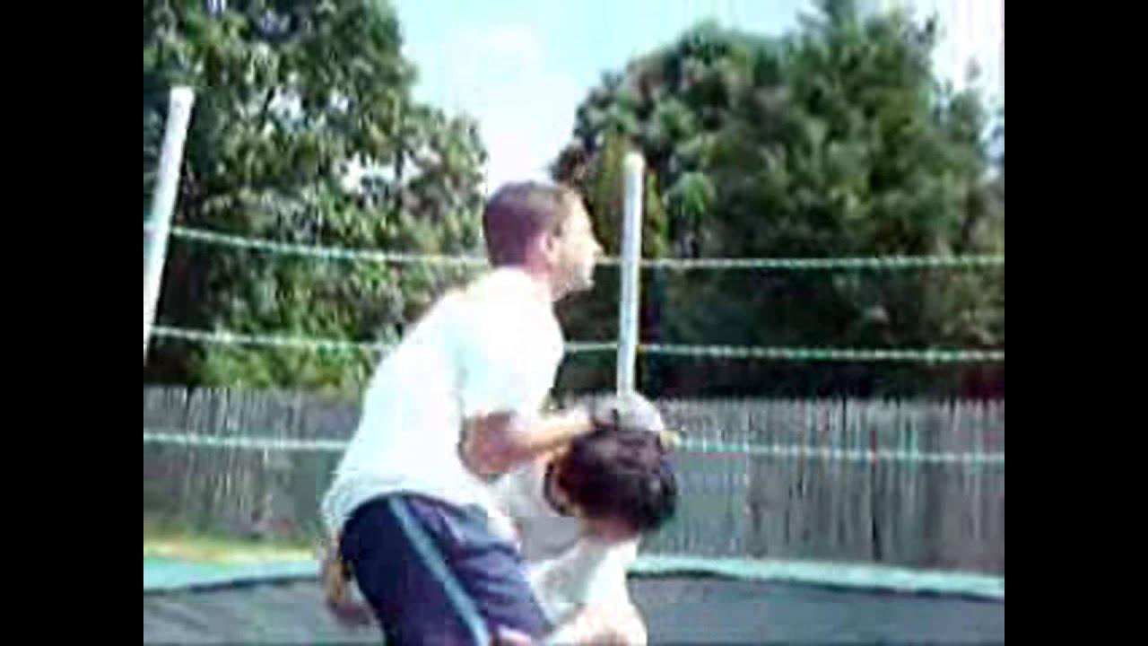backyard rules cjp v johnny 2x4 championship fight
