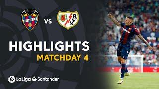Resumen de Levante UD vs Rayo Vallecano (1-1)