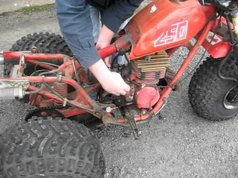 1981 Honda 250r 3 Wheeler Youtube