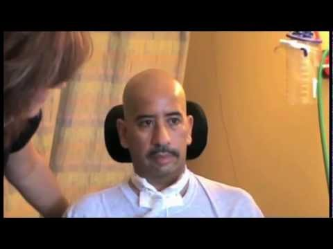 Watch Erasmo use of the Passy Muir Valve and therapeutic interventions on his road to recovery