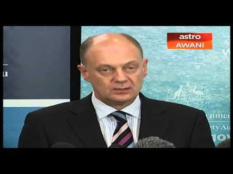 Sidang Media AMSA di Canberra, 11:30 pagi