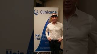 Hair transplant testimonial at Clinicana - From Ireland