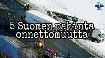 5 Suomen pahinta onnettomuutta