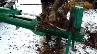 Łuparka hydrauliczna do ciągnika