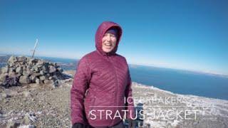 Icebreaker Stratus Long Sleeve Hood Jacket