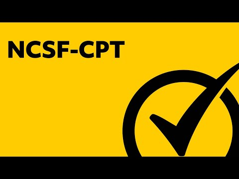 Free NCSF-CPT Study Guide - YouTube