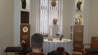 Msza św. za dobroczyńców Jezuitów w Łodzi i Mocnych w Duchu (21.11.2018)