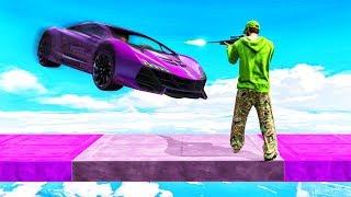 SNIPE THE 1000MPH CARS! (GTA 5 Minigames)