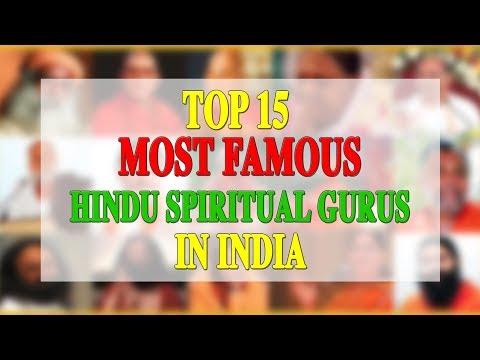 TOP 15 MOST FAMOUS HINDU SPIRITUAL GURUS IN INDIA