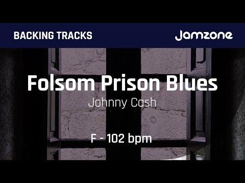 Backing Track Folsom Prison Blues - Johnny Cash - Jamzone