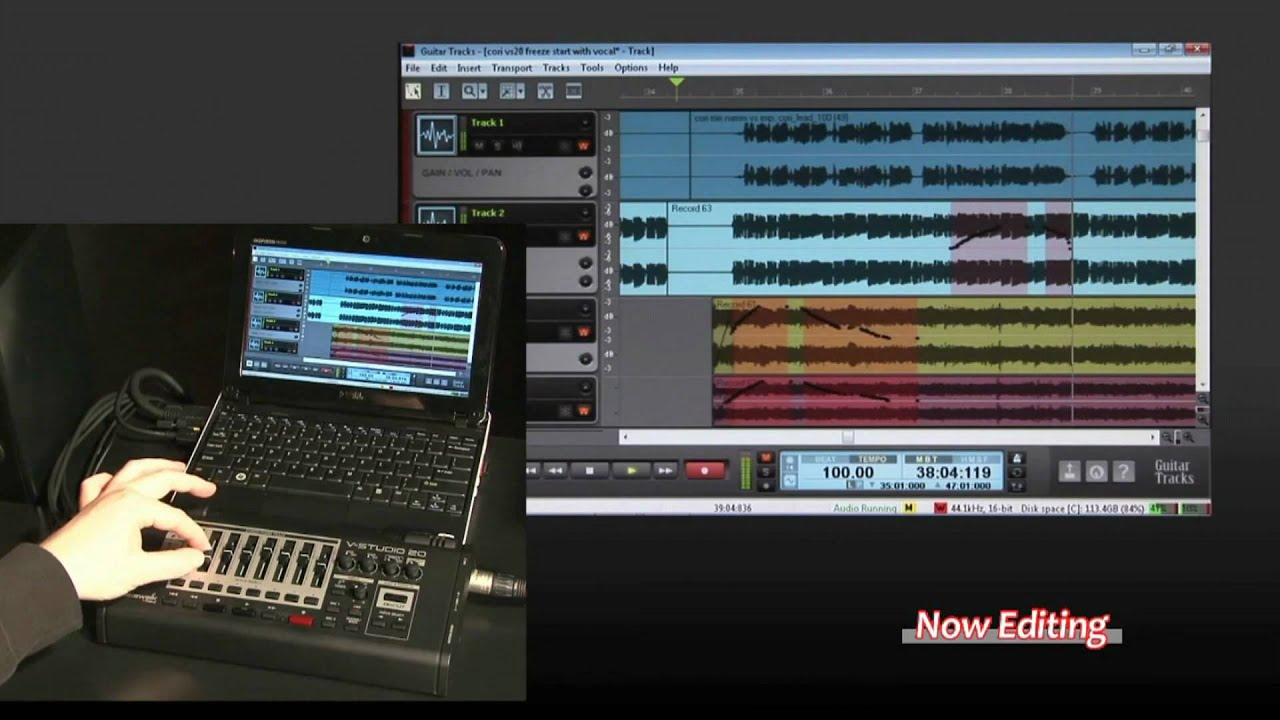 Roland Cakewalk V-Studio 20 Computer Recording Solution