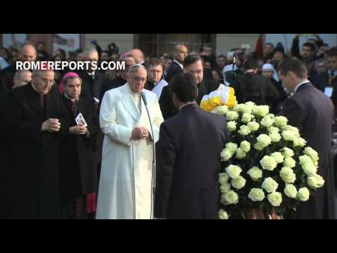 Pope Francis celebrates Feast of the Immaculate Conception