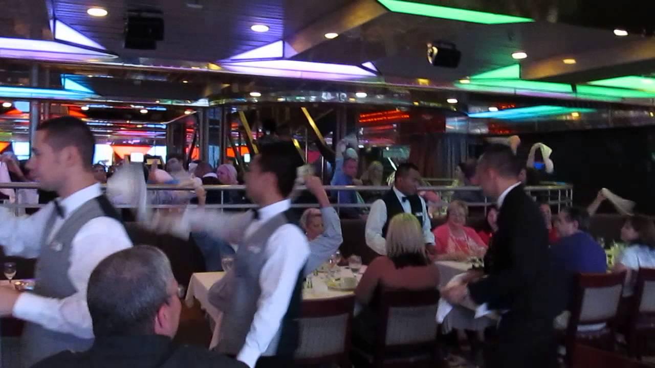 carnival fantasy jubilee dining room youtube
