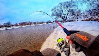 Щучий День Рыбалка на спиннинг Зимой Судак ты где