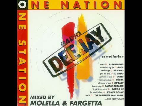 Radio Deejay One Nation One Station Compilation