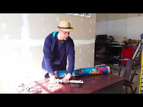 New Generator for Musical Instrument, Electric Eel Demonstration Part #8