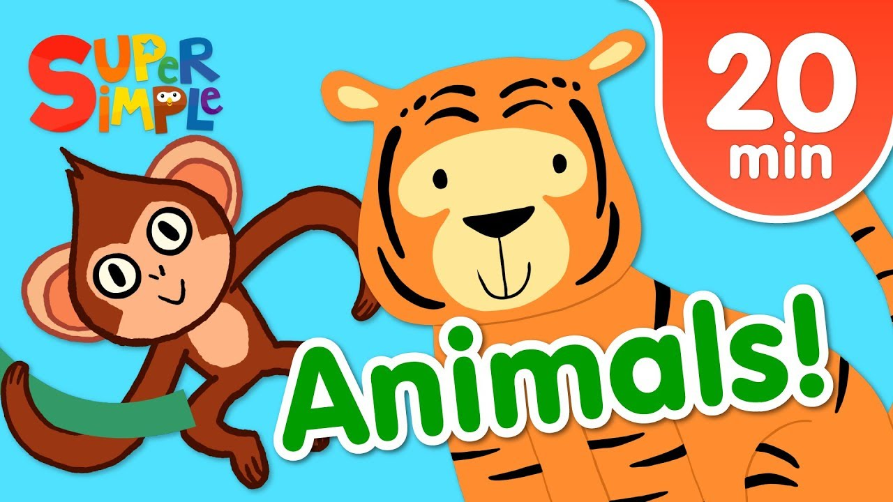 Our Favorite Animals Songs For Kids Super Simple Songs
