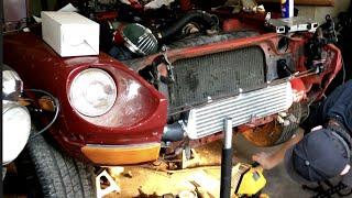 240z 1jz transmission mount install