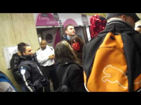 CIR: Tunisian protesters create disturbance at McGill metro station in Montreal
