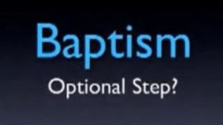 Baptism The Truth About Salvation Vancouver Pentecostals